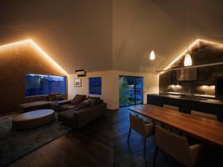 株式会社seki.design Salas de estilo moderno