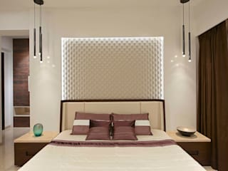 The Warm Bliss Minimalist bedroom by Ar. Milind Pai Minimalist MDF