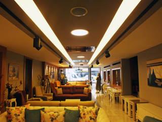 LIA Mimarlik İcmimarlik – Erdemli Mobilya Mağaza Tasarımı:  tarz Ofisler ve Mağazalar