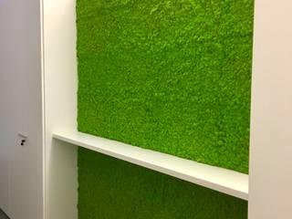 Parete verde di AbitoVerde Moderno