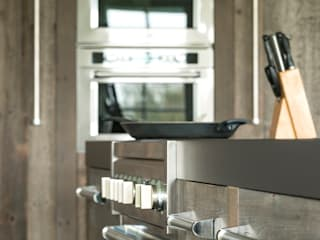 Dapur Gaya Industrial Oleh RestyleXL Industrial Kayu Wood effect