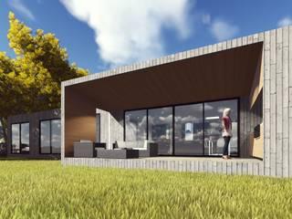 Vivienda Mantagua 231:  de estilo  por bravari oriol arquitectos SpA