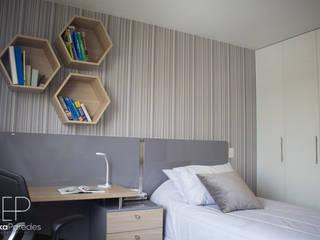 Dormitorio Juvenil Habitaciones modernas de homify Moderno