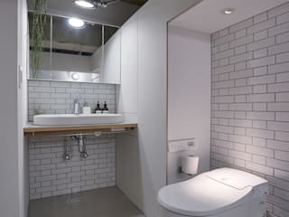 .8 / TENHACHI BathroomToilets Tiles White