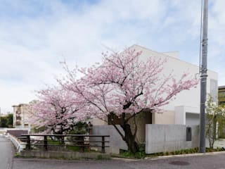 Kenji Yanagawa Architect and Associates Modern houses Concrete White