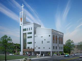 대전 인동교회: (주)건축&건축사사무소예일의  빌라