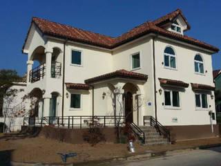전경: (주)건축&건축사사무소예일의  전원 주택