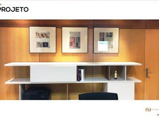Projeto: Escritórios e Espaços de trabalho  por MY STUDIO HOME - Design de Interiores