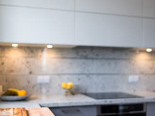 Cocinas de estilo  de GRANMAR Borowa Góra - granit, marmur, konglomerat kwarcowy