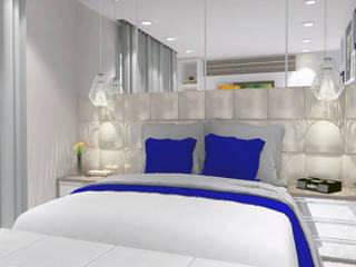 Phòng ngủ phong cách hiện đại bởi Multiplanos Arquitetura Hiện đại