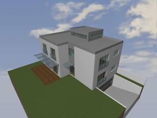 Moradia Unifamiliar - Modelação 3D :   por EUROLESS ENGENHARIA
