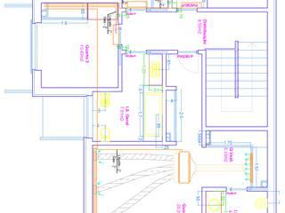 R/CH - Rede Unifilar das Linhas de Gás e Liquido da Instalação Ar Condicionado:   por EUROLESS ENGENHARIA