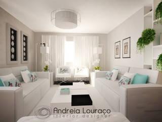 Andreia Louraço - Designer de Interiores (Email: andreialouraco@gmail.com) Salas de estilo moderno