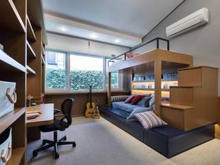projeto dormitório menino por ABHP ARQUITETURA Moderno