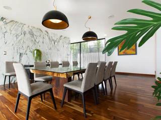 Casa Nochebuena Comedores minimalistas de Dionne Arquitectos Minimalista