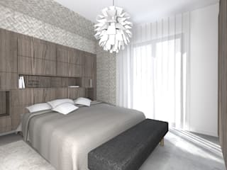 Bedroom by Lionel CERTIER - Architecture d'intérieur,