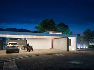 Casa Nochebuena Casas minimalistas de Dionne Arquitectos Minimalista