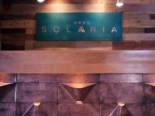 HOTEL SOLARIA PUCON INTEGRAR DISEÑO Hoteles de estilo moderno