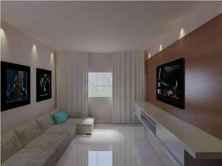 Sala TV: Salas de estar  por Imaginare Arquitetura e Interiores