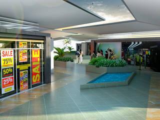 Centros comerciales de estilo  de JUAN CASTRO ARQUITECTO