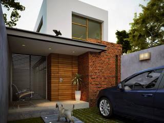 CASA LUNA: Casas unifamiliares de estilo  por MAPER proyecto y construcción