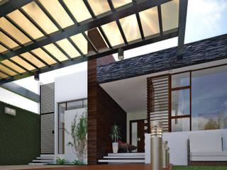 Casa Habitación Morales Vielmas de GARBO Arquitectos Minimalista