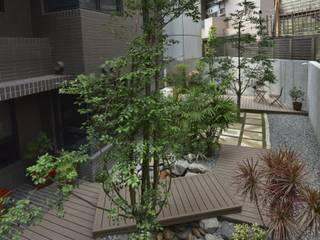 大地工房景觀公司 Jardines de estilo tropical