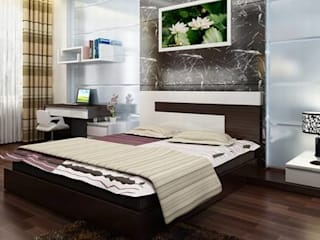 Asian style bedroom by Công ty TNHH TK XD Song Phát Asian