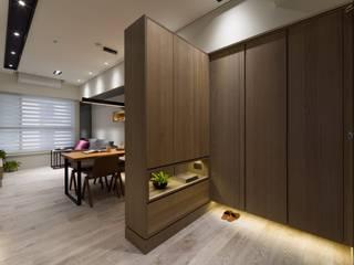 楊允幀空間設計 Ruang Keluarga Modern