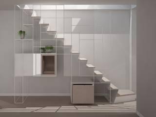 scala/libreria: Scale in stile  di Simone Fratta Architetto