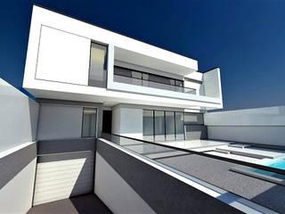 Vivienda H de Pablo Olmedo Arquitecto Minimalista