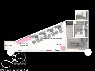 Diseño interior comercial Spa modernos de MAHO arquitectura y diseño, C.A Moderno