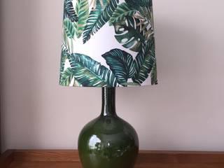 Candeeiro Cerâmica Verde por Abat-Jours & Companhia Moderno