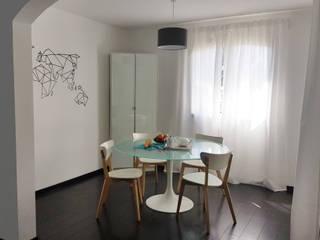 Un aménagement au style scandinave: Salle à manger de style  par CS Architecture d'intérieur