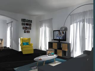 Un aménagement au style scandinave:  de style  par CS Architecture d'intérieur