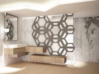 angolo bagno: Bagno in stile  di Simone Fratta Architetto