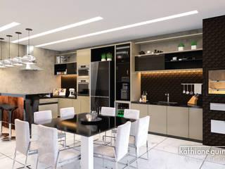 de Kathiane Guimarães Arquitetura e Interiores Moderno