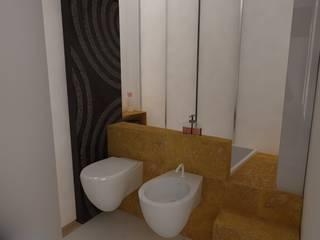 vasca: Bagno in stile  di Simone Fratta Architetto