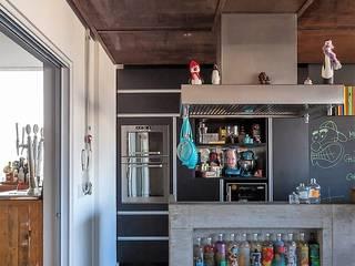 Unit dapur oleh Nautilo Arquitetura & Gerenciamento, Industrial Beton