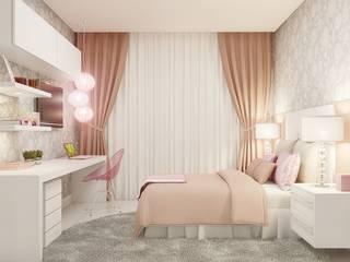 Dormitorios de estilo moderno de Camila Pimenta | Arquitetura + Interiores Moderno