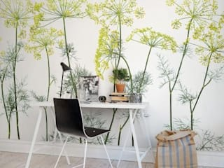 SK Concept Duvar Kağıtları ve Kumaş  – Digital Baskı Duvar Kağıdı - Flowers :  tarz