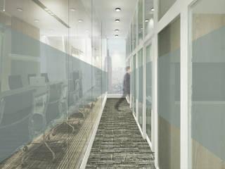 Couloir et hall d'entrée de style  par ARAT Design