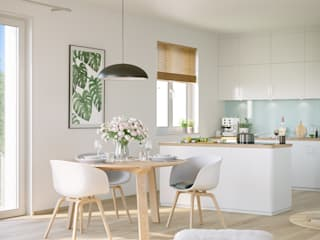 Built-in kitchens by JLL Residential Development,