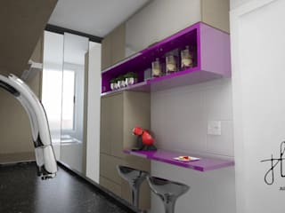 Apartamento Noroeste por Ju Lima Arquitetura e Interiores Moderno