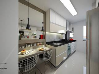Apartamento Águas Claras por Ju Lima Arquitetura e Interiores Moderno