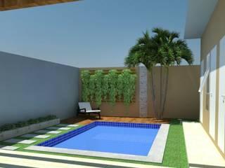 Área de Lazer por Martini Arquitetura e Interiores