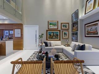 Apartamento Horto Florestal - BA: Salas de estar  por Pires e Medeiros Arquitetura,Moderno