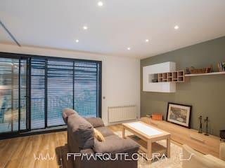 sala de estar: Salones de estilo  de FPM Arquitectura