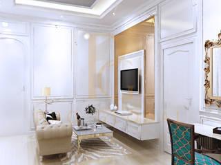 Sofa dan Backdrop TV:   by Pro Global Interior