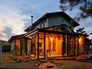남양주 서종면 전원주택: 썬룸과전원주택의  주택